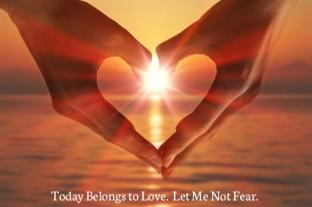 today belongs to love