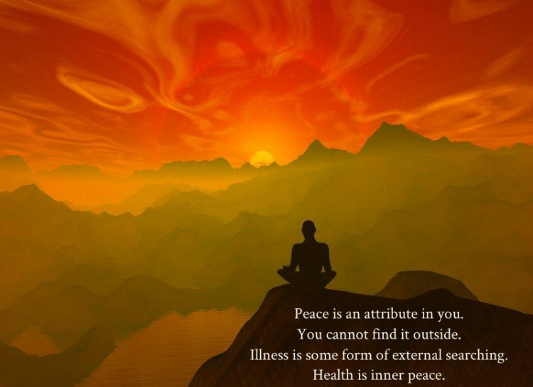 health is inner peace