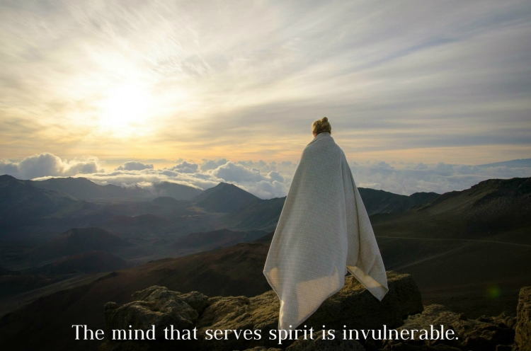 the mind that serves spirit