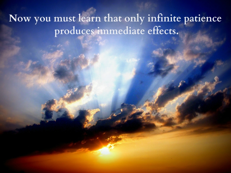 infinite patience